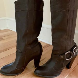 """Real Leather Heeled """"Cowboy Lite"""" Boots 8/8.5"""
